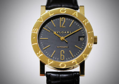 Bulgari Bulgari Bulgari 33 mm or jaune