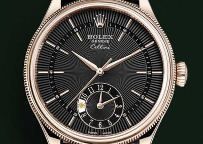 Rolex Cellini Dual Time 39mm Everose